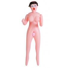 Кукла надувная Dolls-X Passion, Шатенка Кибер вставка: вагина-анус