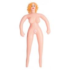 Кукла надувная с реалистичной головой