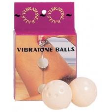Шарики вагинальные белые 3,5 см