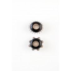 Эрекционные кольца черные, 2 шт.