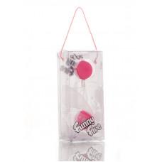 Шарики вагинальные 11 см розовые