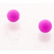 Шарики вагинальные 11 см фиолетовые