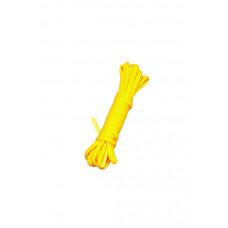 Шелковистый бондаж для связывания, желтый