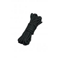 Шелковистый бондаж для связывания, черный