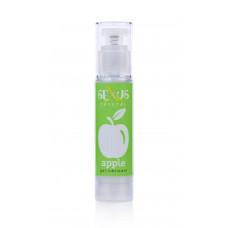 Интимная гель-смазка с ароматом яблока