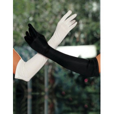 Перчатки белые длинные аксесуарные