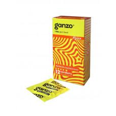 Презервативы Ganzo Juice, 12 шт.