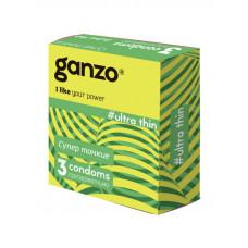 Презервативы Ganzo Ultra Thin ультра тонкие