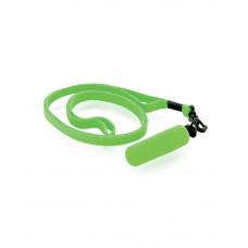 Минивибратор зеленый с ремешком, 10 штук