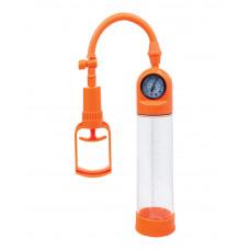 Помпа вакуумная для мужчин с манометром, 20 см
