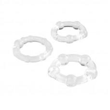 Эрекционные силиконовые кольца A-Toys