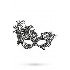 Фантазийная маска страусиное перо