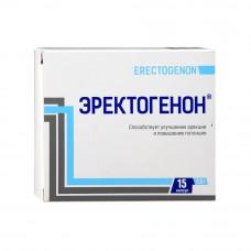 Эректогенон для эрекции и потенции, 15 капсул