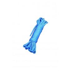 Шелковистый бондаж для связывания, синий