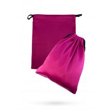 Атласный мешочек для хранения секс-игрушек, розовый, 2 шт.