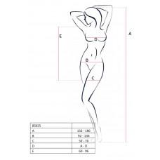 Платье с сеточкой Passion Erotic Line, белое