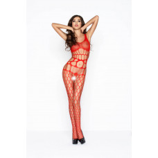 Эротический кэтсьют без рукавов Passion Erotic Line, красный