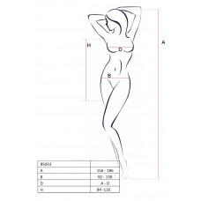 Эротическое платье в сеточку Passion Erotic Line, белое