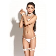 Чокер белый Queen Of Hearts Bonita