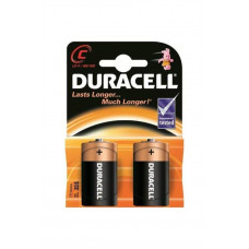 Батарейки типа C LR14 Duracell, 2 шт.