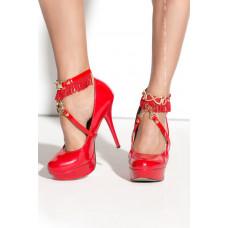 Украшение на щиколотки красное Arabesque Queen Of Hearts