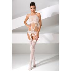 Эротический костюм-сетка Passion Erotic Line, белый