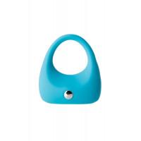 Виброкольцо для увеличения эрекции, голубое