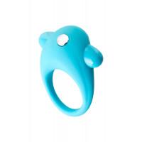 Виброкольцо для улучшения эрекции, голубое
