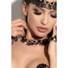 Чокер Queen Of Hearts Arabesque черный
