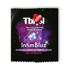 Ты и Я - Гель-любрикант ''Intim Bluz'' анальный 4 г (20 шт.)