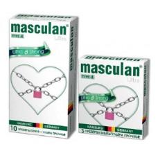 Презервативы Masculan Ultra 4, 3 шт. Ультра прочные