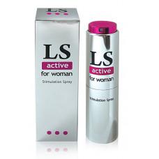 Спрей для женщин (стимулятор) LOVESPRAY ACTIVE 18 г