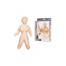 Кукла надувная Чест Чокер в позиции стоя на коленях высота 90 см